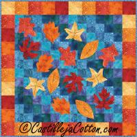 Leaves on a Pond Quilt Pattern CJC-46332