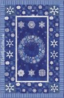 Starry Nights Snowflake Pattern CJC-4690