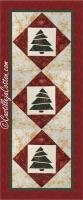 Sliced Trees Table Runner Pattern CJC-4710