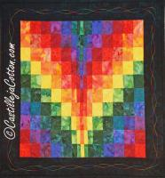 Bargello Sunrise Quilt Pattern CJC-4718
