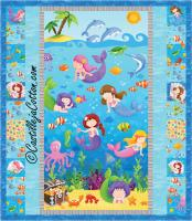 Little Mermaids Quilt Pattern CJC-4749