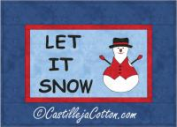 Let It Snow Quilt Pattern CJC-48681