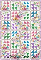 Birds and Flowers Quilt Pattern CJC-48761