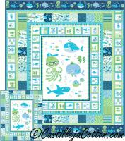 A Whale of a Time Quilt Pattern CJC-49073