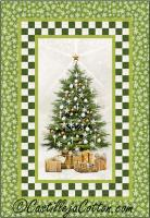 White Christmas Quilt Pattern CJC-49112