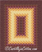 Glowing Rectangle Quilt Pattern CJC-4996