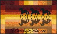 Horses at Sunset Quilt Pattern CJC-50005
