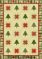 Stars and Trees Quilt Pattern CJC-5036