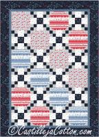 Chained Ovals Quilt Pattern CJC-5054