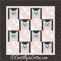 Nine Patch Cats Quilt Pattern CJC-5070