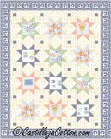 Starry Journey Quilt Pattern CJC-5090