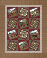 Country Home Quilt Pattern CMQ-127