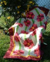 Petunia Patch Quilt Pattern CPW-108