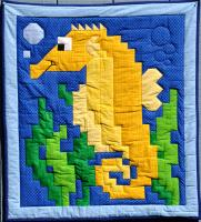 Seahorse Quilt Pattern CQ-019