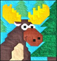Moose Quilt Pattern CQ-026
