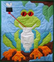 Tree Frog Quilt Pattern CQ-031