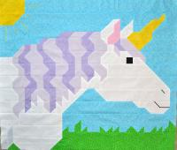 Unicorn Quilt Pattern CQ-045