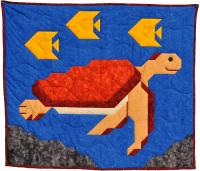 Sea Turtle Quilt Pattern CQ-056