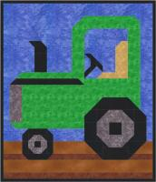 Tractor Quilt Pattern CQ-059