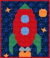 Rocket Quilt Pattern CQ-062