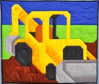 Backhoe Quilt Pattern CQ-082