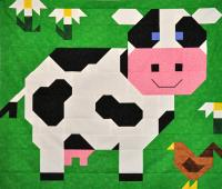 Cow Quilt Pattern CQ-094