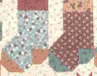 Thoughts of Christmas - Row 9 Stockings Pattern CQD-1209