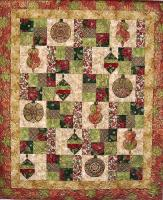 Holiday Flourish Quilt Pattern CTG-084