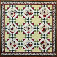 Holiday Squares Quilt Pattern CTG-174