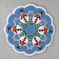 Snowmen Table Topper Pattern DBM-011