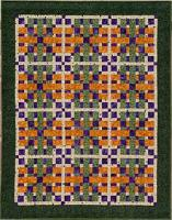 On the Straight And Narrow - Classy Quilt Pattern DCM-022