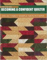 Delectably Simple Mountains Book DCM-110