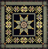 Radiant Feathered Star Quilt Pattern DFQ-104