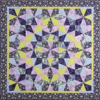Kaleidoscope Puzzle Quilts Pattern DFQ-105