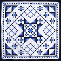 Glacial Stars Quilt Pattern DFQ-112