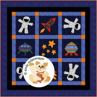 Rocket Man Quilt Pattern FCP-019