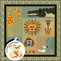 Jungle Boogie Quilt Pattern FCP-022