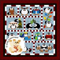 Penguin Cheer Quilt Pattern FCP-036