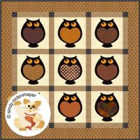 Hootie Toots Quilt Pattern FCP-050