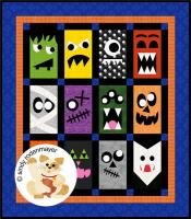 Monster Mash Up Quilt Pattern FCP-051