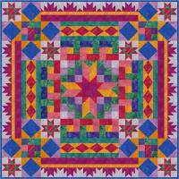 Block Buffet Quilt Pattern FHD-121