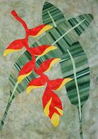 Heliconia Quilt Pattern FID-2141