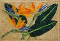 Bird of Paradise Quilt Pattern FID-2890