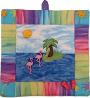 Flamingo Island Mini Quilt Pattern FID-752
