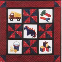Little Boys & Their Toys Quilt Pattern FRD-1101