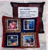 Grandma's Hug Pillow Pattern FRD-1102
