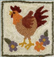 Rustic Rooster Pattern FRD-1300