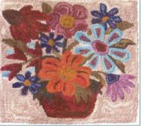 Folk Flowers Pattern FRD-1313