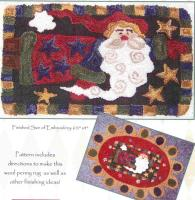 Flying Santa Pattern FRD-1322