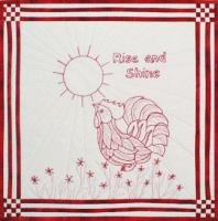 Rise and Shine Wall Hanging Pattern GGA-1304